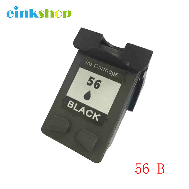 1 Pack Compatible Cartridge For HP 56XL C6656 Black  Ink