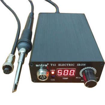 Antra Schnell Heizung T12 löten station elektronische schweißen eisen Automatische schlaf automatische standby thermostat control STC-T12