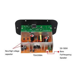 Image 5 - Subwoofer Amplifier Board Car FM Raido Bluetooth Audio Amplifiers 12V 24V 220V For 5 8inch RCA Bass Speakers  DIY