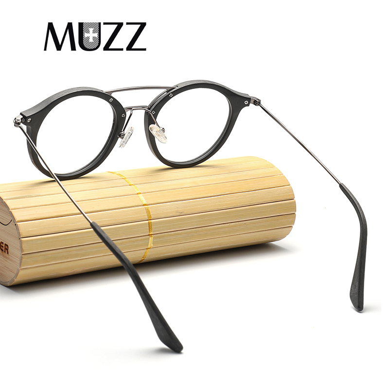 Image 5 - High Quality Men Myopia Wood Eyewear myopia glasses frame retro frame female frame male with myopia glasses-in Men's Eyewear Frames from Apparel Accessories