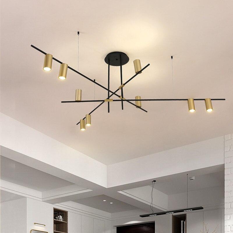 Nordic подвесные светильники современный металлический золотой Потолочный подвесной светильник для гостиной кухни спальни luminaria светильники