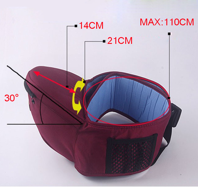 Baby Hipseat With Belt Sling