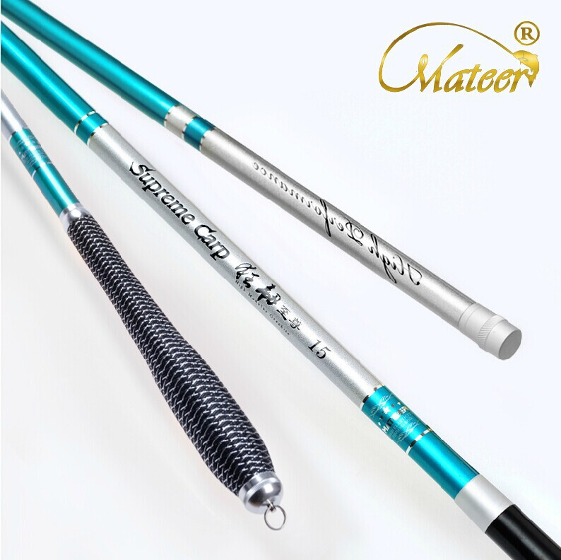 Carbon fishing rod 6 3 mtaiwan fishing rod carbon for Steel fishing rod