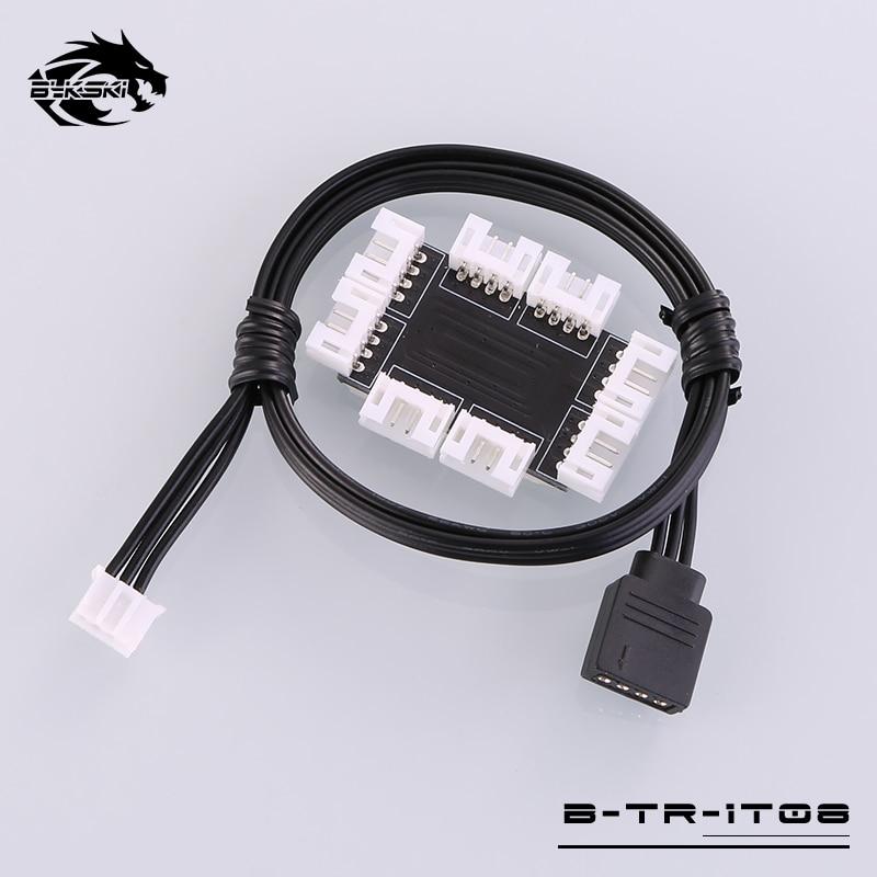 Bykski B-TR-1T08 8 Channels RBW Led Device Sync Distributor tr 29 ip b
