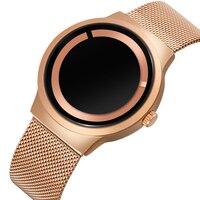 SKONE Unisex Watches Luxury Brand Men's Watch Fashion Unique Style Quartz Watch Women Girls Mesh Net Band Clock Personality 2018