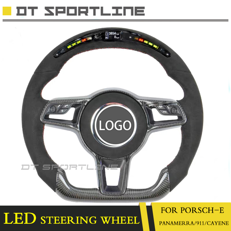 Detail Feedback Questions About Led Steering Wheel For Porsche Upgrade Race Display Lcd Screen Panamera 911 Cayenne Macan Racing On