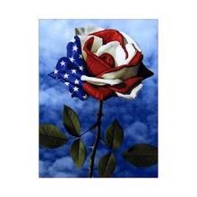 Peinture DIAMANT ROSE 5d, Broderie, bricolage, Strass, point de croix, kit artisanat
