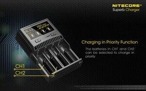 Image 3 - Nitecore SC4 インテリジェント高速充電極上充電器 4 スロット 6A 合計出力互換 imr 18650 14450 16340 単三電池
