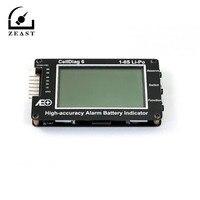 1 pc 16 V 6 C6 1-6 S Lipo Wysoka Dokładność Alarm Baterii Wskaźnik Tester Napięcia Tester Cyfrowy woltomierz Elektroniczny Narzędzia