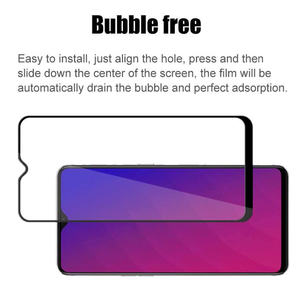 9D フルカバー強化ガラス保護フィルムの Realme 1 2 3 U1 C1 2019 9 H スクリーンプロテクター realme ため 3 2 プロ 2Pro 3Pro