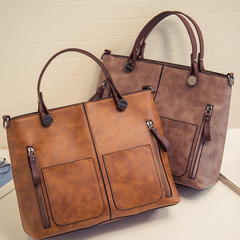 KMFFLY Handbags Women Messenger-Bag Large-Capacity Casual New-Fashion Brand Luxury