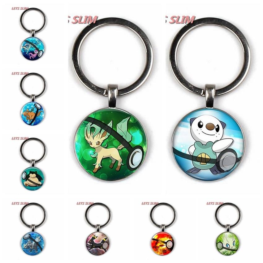 vulpix-glass-dome-pendant-keychain-vaporeon-font-b-pokemon-b-font-pokeball-leafeon-go-creative-chaveiro-mega-key-rings-friendship-gift-absol