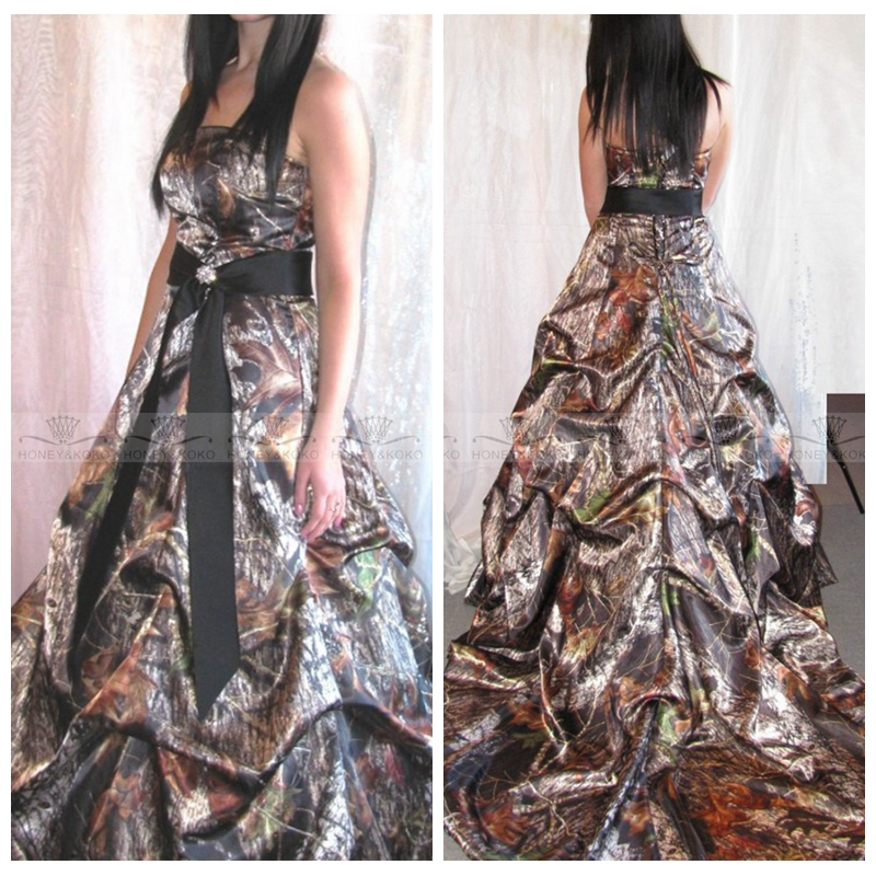 Compare prices on ribbon drapes online shopping buy low for Camo ribbon for wedding dress