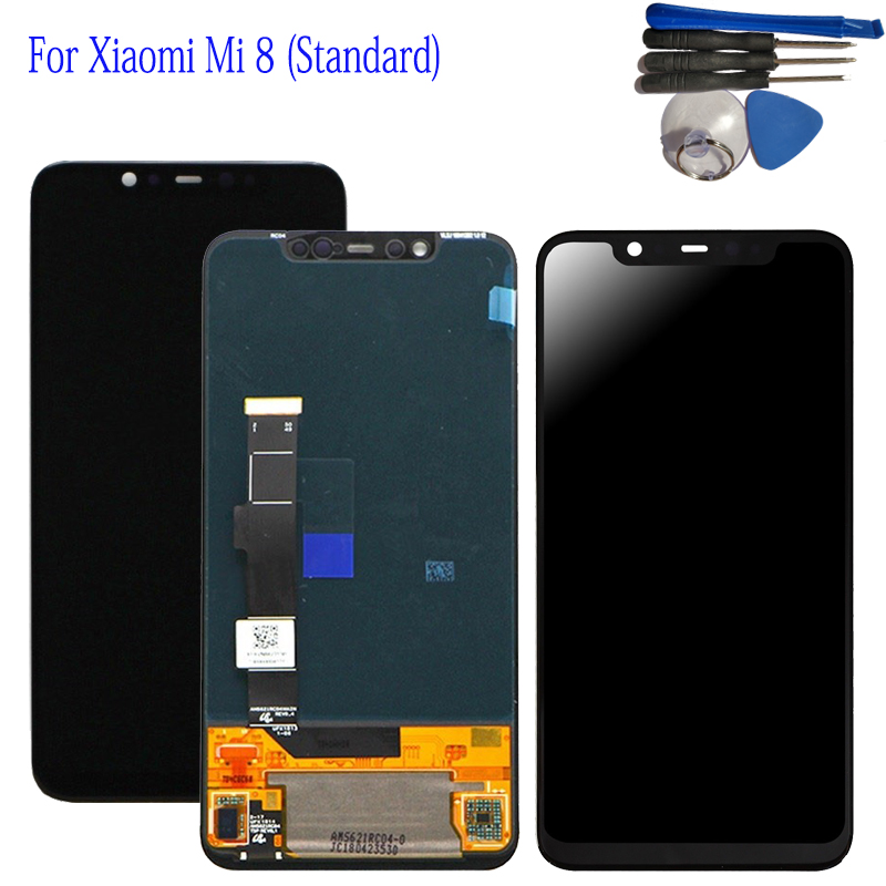 6.21 For Xiaomi Mi 8 LCD Display Digitizer Touch Screen Assembly for Xiaomi 8 LCD Xiaomi MI8 LCD Display Screen Touch +Tools6.21 For Xiaomi Mi 8 LCD Display Digitizer Touch Screen Assembly for Xiaomi 8 LCD Xiaomi MI8 LCD Display Screen Touch +Tools
