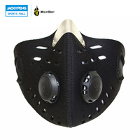 WOLFBIKE Anti-vervuiling Stofdicht Stad Fietsen Gezichtsmasker Fiets Motorfiets Mond Cover Outdoor Mond-moffel met filter