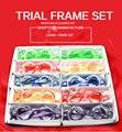 Envío gratis colorful frame trial set 52mm ~ 70mm 10 unids/set bajo precio
