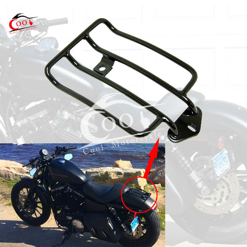 Motorcycle Raider Black Luggage Rack Support Shelf Fit For ...