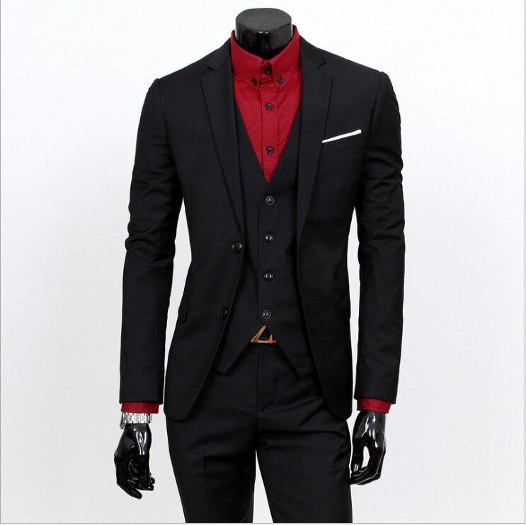 Casual Peiece Pant Nuevo Buena 5xl Más 3 Boda Para Vest Vestir Novio  chaqueta Hombre Calidad 2018 Trajes ... 87a684e89ff