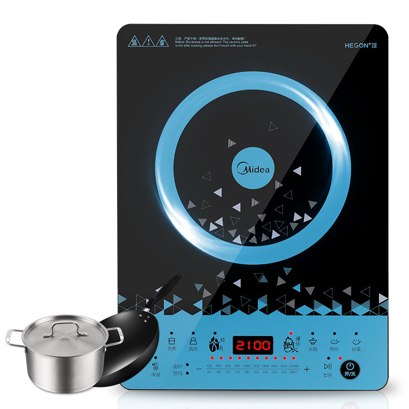 цены  Household sub-light high strength panel induction cooker Touchpad stainless steel multifunctional cooking tools kitchen machine