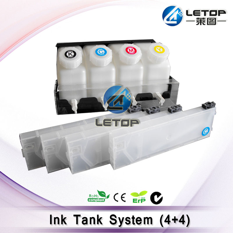 где купить 4 Color Ciss Bulk ink tank System and 4 Ink Cartridge for Mimaki/ Roland/Mutoh and Other 4 Color Printer дешево