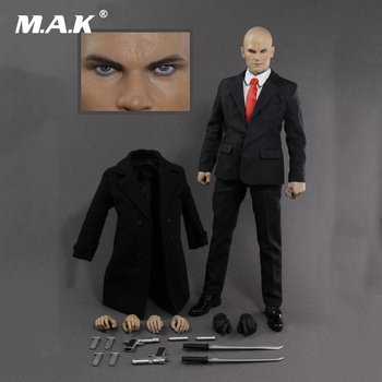 Collectible Hitman 47 Doll 1/6 Scale Full Set Action Figure Suit Headsculpt & Body & Clothes & Accessory Model Toys for Gift 2