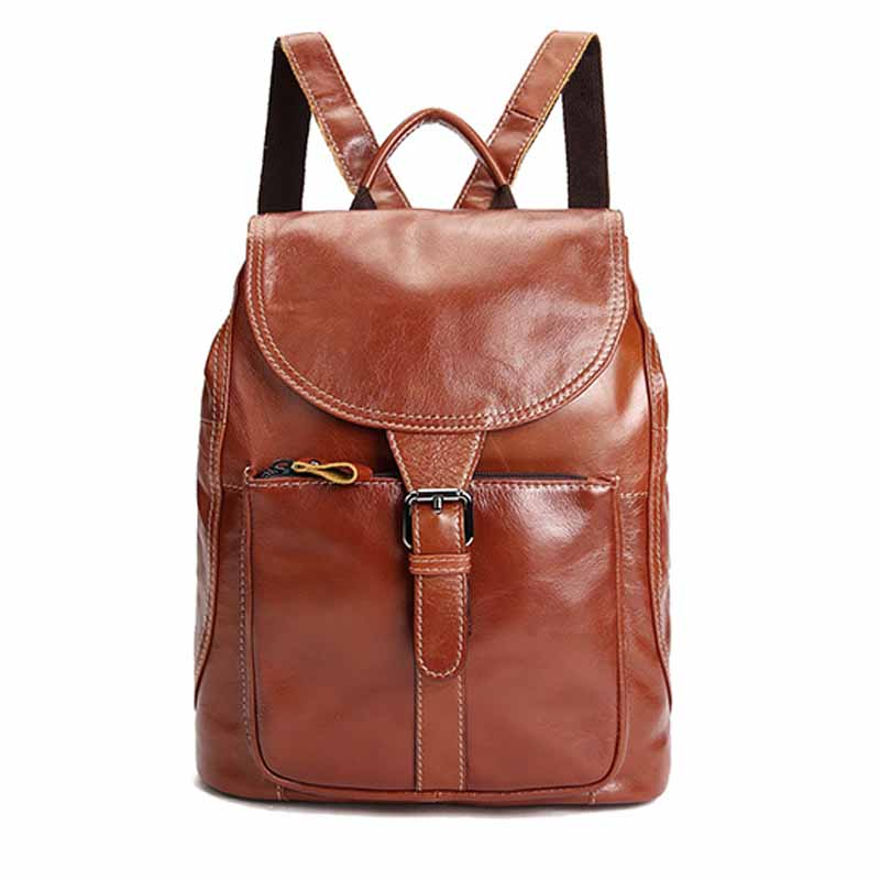 Neweekend High Quality Genuine Leather Women Bag Vintage Backpack For Teenage Girls Casual Bags Female Shoulder Bags BF5001 high quality cow split leather women backpack vintage backpacks for teenage girls casual bags female shoulder bags for students