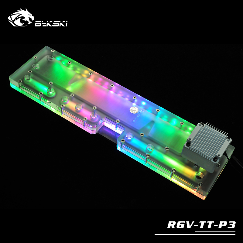 Bykski RGV-TT-P3 Water Distribution Board for TT Core P5 Chassis цены онлайн