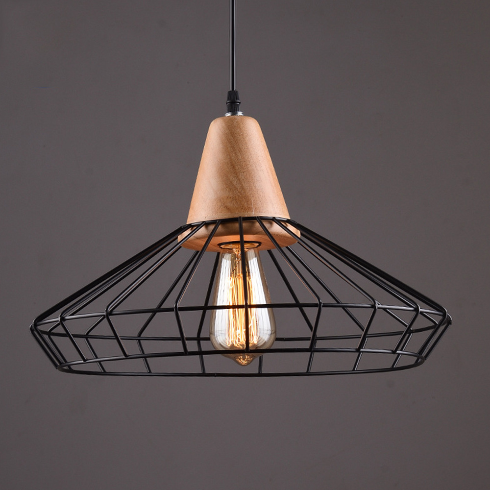 luminaire loft industrial vintage pendant lights bar kitchen home decoration e27 edison light fixtures iron pulley