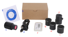 Buy online 5.0MP HD Microscope USB 3.0 Digital Electronic Eyepiece Camera with C-Mount Adapter for Image Video Capture