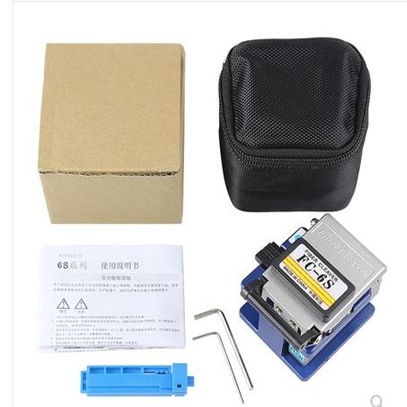 Image 5 - Cold Contact Dedicated Metal fiber cleaver FC 6S  cutting  fiber knife FTTH fiber optic cable cutter knife  fiber cleaver tool-in Fiber Optic Equipments from Cellphones & Telecommunications