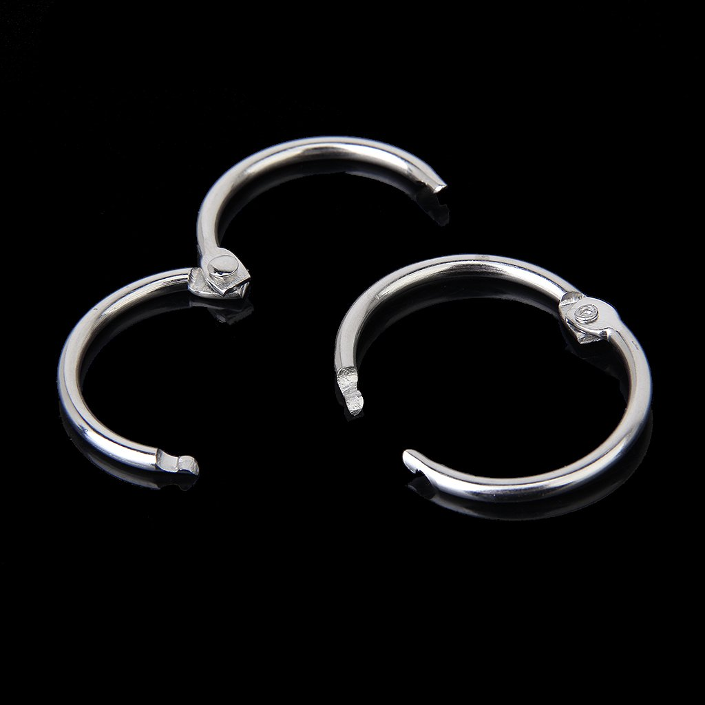 HOT SALE 10 x Clamp Rings for Scrapbooks Albums - 30mm