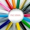 Ücretsiz kargo 1 levha 30cm x 25cm yapışkan geri PVC ısı transferi vinil ısı basın makinesi T shirt demir on HTV baskı