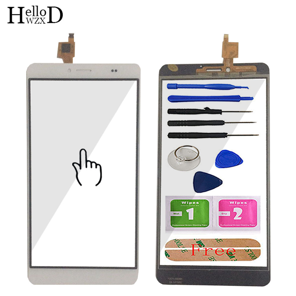 6.0'' Touch Glass Screen Digitizer Panel For Bluboo Maya Max Mobile Phone Front Glass Lens Sensor Tools Parts Adhesive