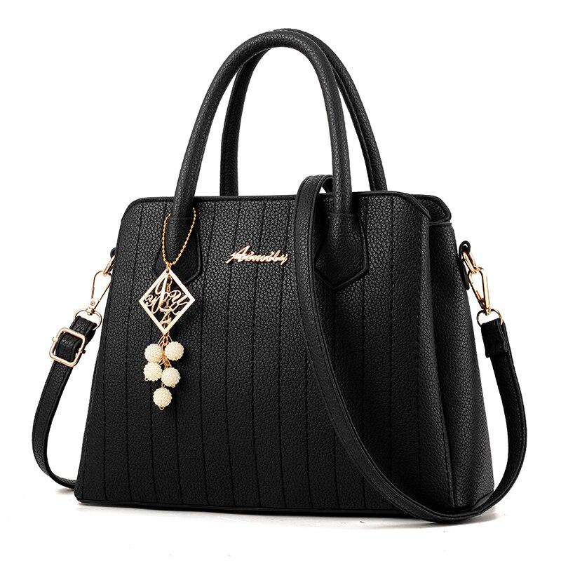 High Quality Lady Big Totes Bags Women Shoulder Messenger Leather PU Handbag Crossbody Bag with Nice