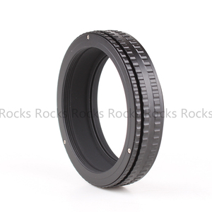 Image 2 - Pixco M65 to M65 Mount L.ens Adjustable Focusing Helicoid 17 31mm Macro Tube Adapter   17mm to 31mm