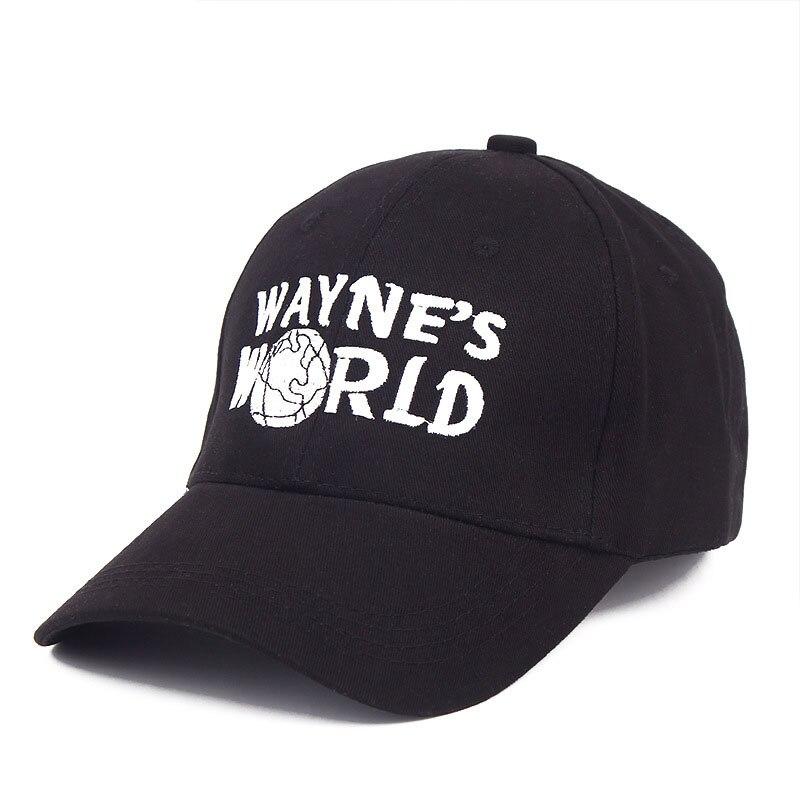 e956a80c480 Glaedwine High Quality Wayne s World Hat Costume Waynes World Baseball Caps  Unisex Earth Hats Embroidered Trucker Dad Hat hiphop