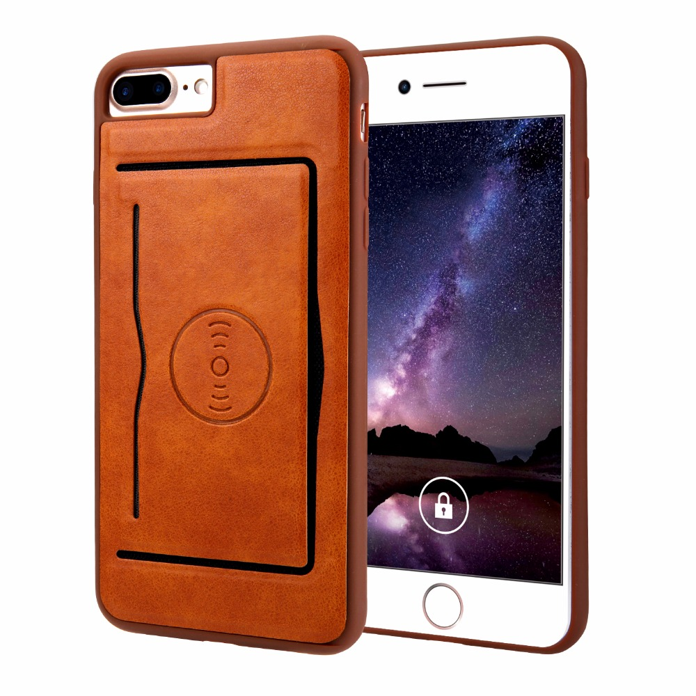 Leather Case For iphone 7 7plus Wallet Phone Bag Cover For