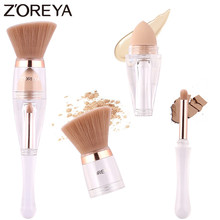 Zoreya Brand Multi-function Angled Powder Blending Brush Quick Makeup Tools Comfortable Synthetic Hair Make Up Brushes