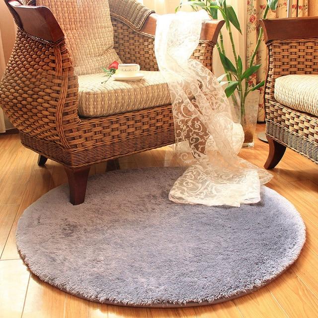 ronde tapis tapis pour salon kilim en fausse fourrure tapis