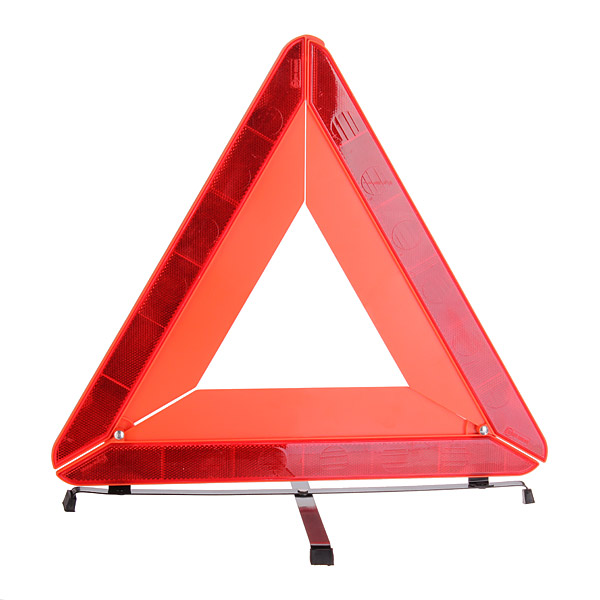 Safurance Car Auto Emergency Tripod Red Reflector Warning Triangle Mirror Roadway Safety Traffic Signal new reflective traffic warning sign car triangle foldable standing tripod emergency