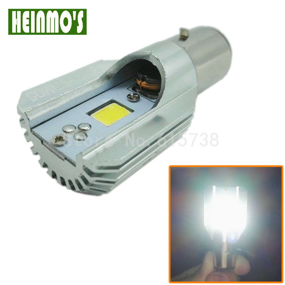COB Матацыкл Матацыкл Фара H6 BA20D Motor Bike Fog Lamp Bulb Light Мапед скутэр ATV КТМ отл Harley Touring
