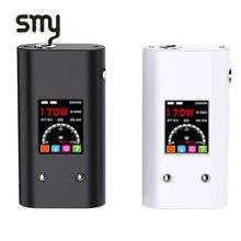 ต้นฉบับSmy 170TC 18650 Modกล่องควบคุมอุณหภูมิ170วัตต์VapeสมัยVW VTโหมดบุหรี่อิเล็กทรอนิกส์Vapeปากกาวิศวกรรมสมัย