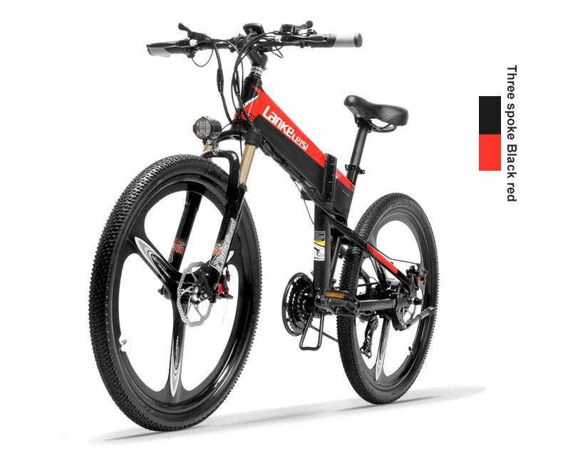 HTB1A rhXNrvK1RjSszeq6yObFXah - 26inch electric mountian bicycle folding  frame 48V  lithium battery hidden frame 400w high speed motor range 60-100km
