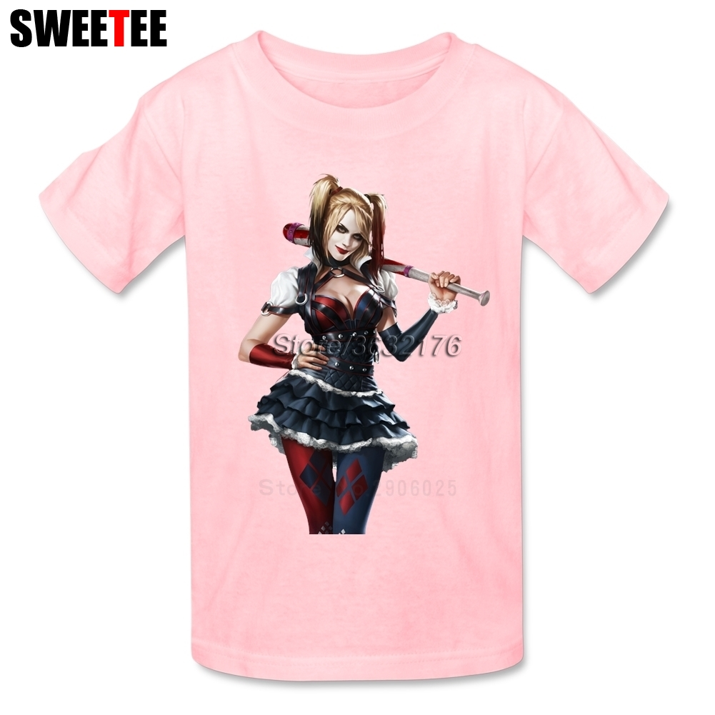 Suicide Squad T Shirt Kid Cotton Toddler Round Neck Baby Tshirt Children Tees Infant Tops 2018 Harley Quinn T-shirt For Boy Girl