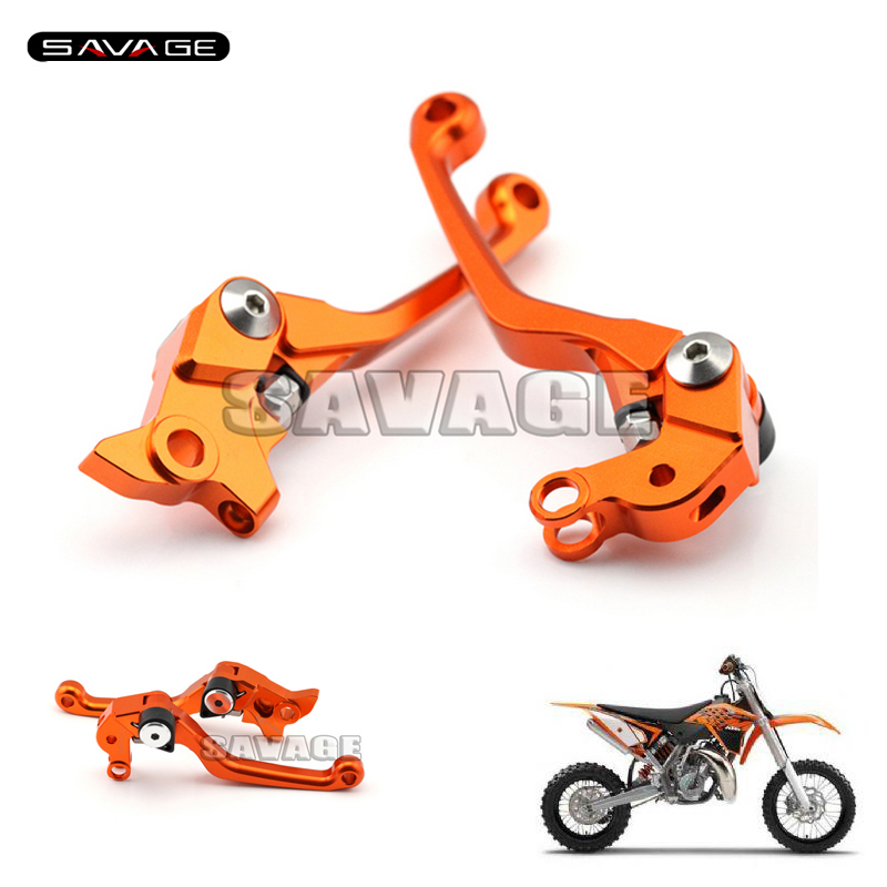 For KTM SX/XC 65/85/105 Motorcycle Motocross dirt bike CNC Pivot Brake Clutch Levers