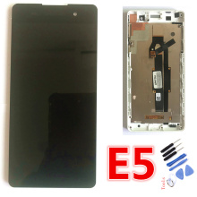 5.0 ORIGINAL Display For SONY Xperia E5 LCD Touch Screen with Frame F3311 F3313 Replacement