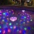 A Prueba de Agua subterránea Disco de Aqua Glow LED de Color Cambiante Luz de La Lámpara Decorativa para la Piscina