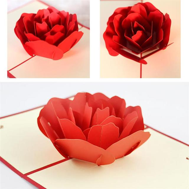 Valentines greeting card 3d hollow flower popup greeting card valentines greeting card 3d hollow flower popup greeting card handmade popup card popup gift card m4hsunfo
