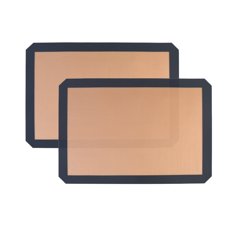 Silicone Baking Mat - Set Of 2 Half Sheet (Thick & Large 11 5/8