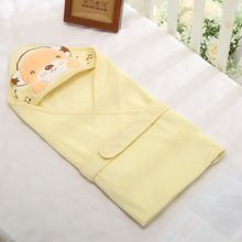 все цены на Newborn Baby Swaddle Cotton Cartoon Blanket Baby Sleeping Bag Belt Bedding Infant Swaddleme Baby Warp Stroller Bedding Wrap